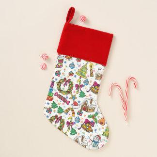 Beautiful Stocking Cute doodle clip art design