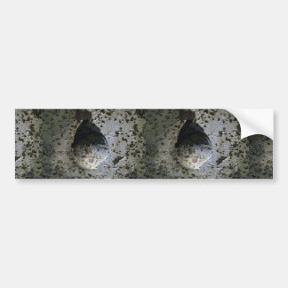 Beautiful Stone In The Middle Of Stone Bumper Sticker