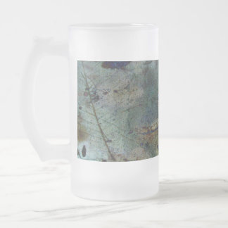 Beautiful Storm 16 Oz Frosted Glass Beer Mug