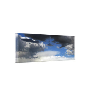 Beautiful Storm Clouds on Canvas Canvas Print