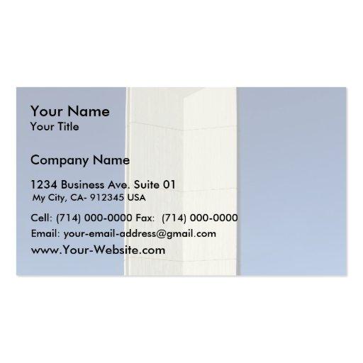Beautiful Straight Light House Business Card Template