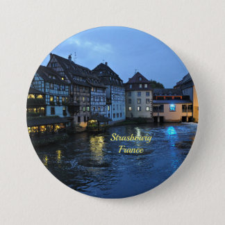 Beautiful Strasbourg, France Pinback Button