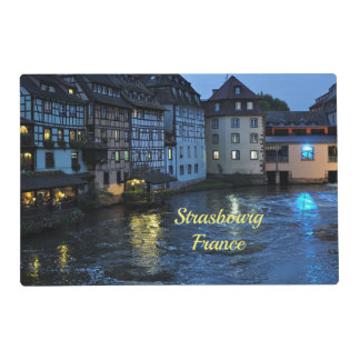 Beautiful Strasbourg, France Placemat