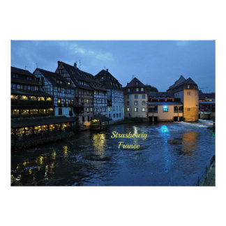Beautiful Strasbourg, France Poster