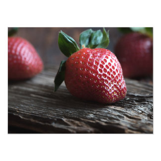 Beautiful Strawberries Card