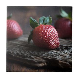 Beautiful Strawberries Tile