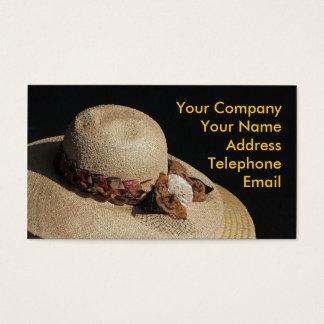 Beautiful Strawhat Business Card