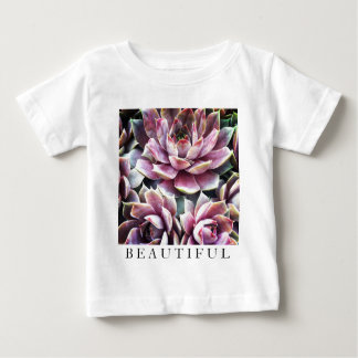 Beautiful Succulant Plant Close-up Baby T-Shirt