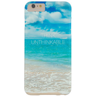 Beautiful Summer Beach Barely There iPhone 6 Plus Case