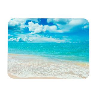 Beautiful Summer Beach Magnet