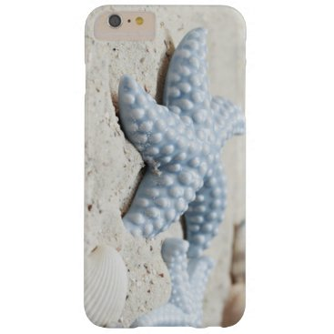 Beach Themed Beautiful summer beach sea star shell and sand barely there iPhone 6 plus case