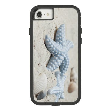 Beach Themed Beautiful summer beach sea star shell and sand Case-Mate tough extreme iPhone 7 case