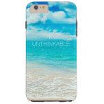Beautiful Summer Beach Tough iPhone 6 Plus Case