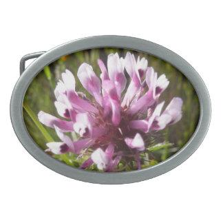 Beautiful Summer Flower Buckle Oval Belt Buckle