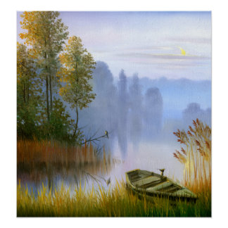 Beautiful Summer Painting Poster