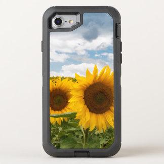 beautiful summer sunflowers OtterBox defender iPhone 7 case