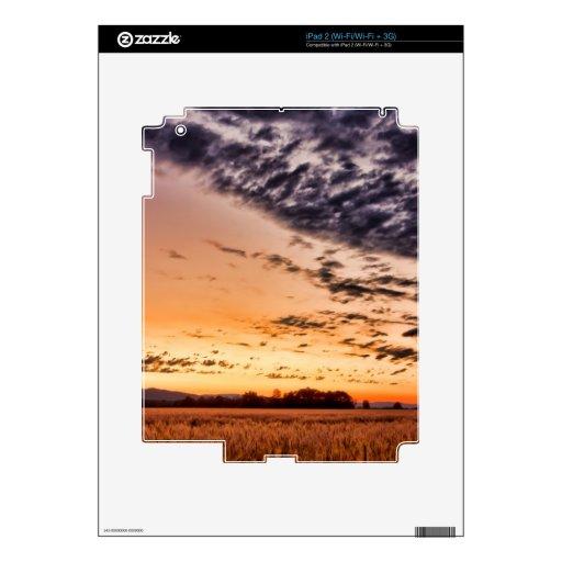 Beautiful Summer Sunset Skin For The iPad 2