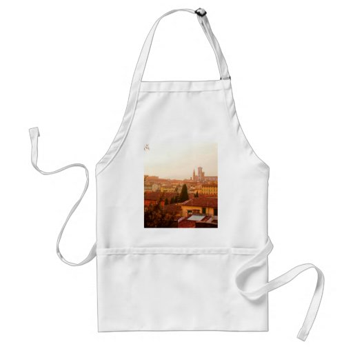 Beautiful summer view from Florence Adult Apron