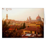 Beautiful summer view from Florence Cards