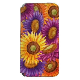 Beautiful Sun Flowers iPhone 6/6s Wallet Case
