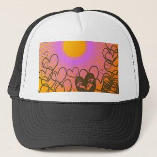 beautiful sun lover trucker hat