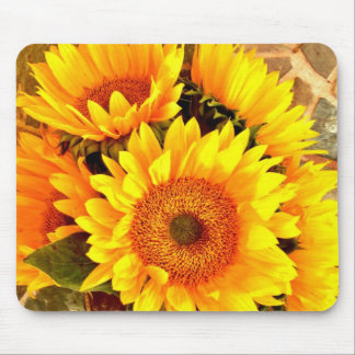 Beautiful Sunflower Bouquet Gifts Mouse Pad