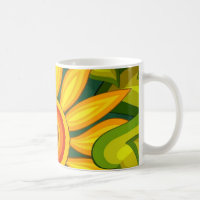 Beautiful Sunflower Coffee Mug