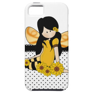 Beautiful Sunflower Girl iPhone 5 Covers