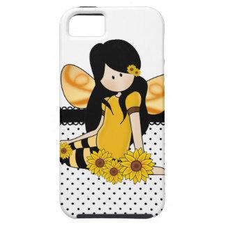 Beautiful Sunflower Girl iPhone SE/5/5s Case