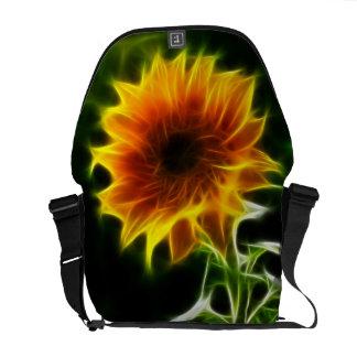 Beautiful Sunflower Messenger Bag