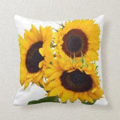 Beautiful Sunflowers Gifts Pillow
