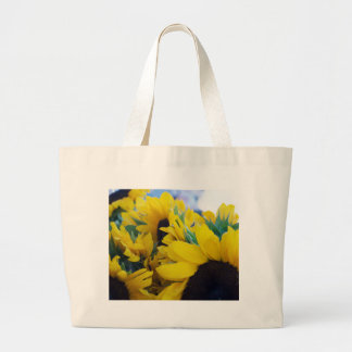 Beautiful Sunflowers Large Tote Bag