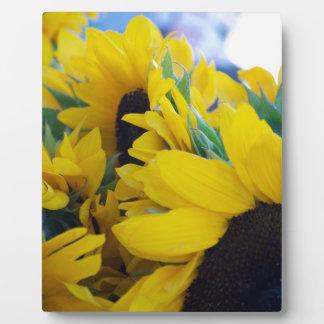 Beautiful Sunflowers Plaque