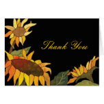 Beautiful Sunflowers Thank You Cards
