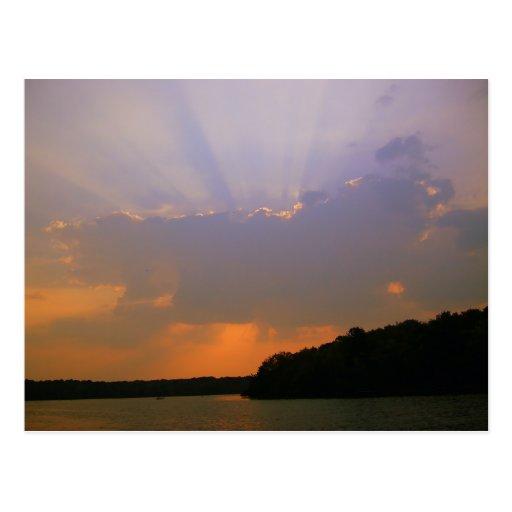 Beautiful Sunrays Postcard