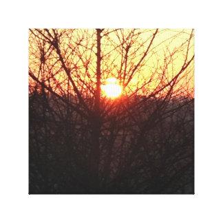 Beautiful Sunrise Canvas Canvas Prints