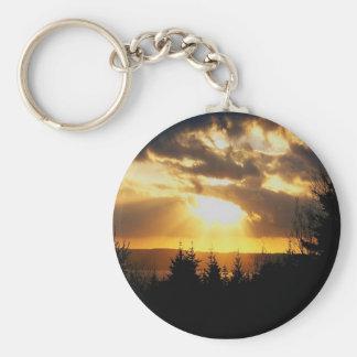 Beautiful Sunrise Key Chain