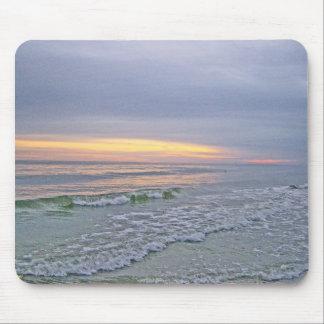 Beautiful Sunset Along Oak Island Mouse Pad