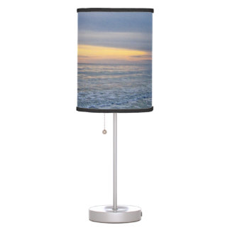 Beautiful Sunset Along the Seashore Desk Lamp