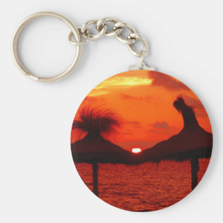 Beautiful Sunset at the Sea - Keychain