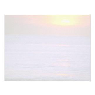 Beautiful Sunset: Bali, Indonesia Letterhead
