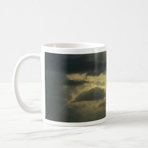 Beautiful Sunset: Bali, Indonesia Classic White Coffee Mug