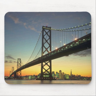Beautiful Sunset: Bay Bridge, San Francisco, Calif Mouse Pad