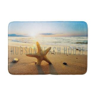 Beautiful Sunset Beach Custom Beach House Bath Mat Bath Mats