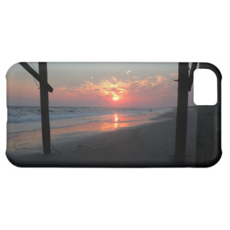"Beautiful ""Sunset Beneath the Pier"" Case For iPhone 5C"