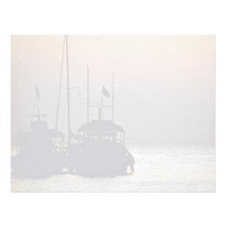 Beautiful Sunset: Boats on a sunset, Koh Samet Isl Letterhead