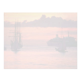 Beautiful Sunset: Bridgetown Harbor, Barbados Letterhead