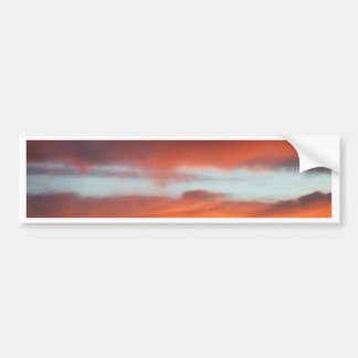 Beautiful Sunset Car Bumper Sticker