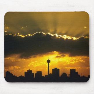 Beautiful Sunset: Calgary sunset, Alberta, Canada Mouse Pad