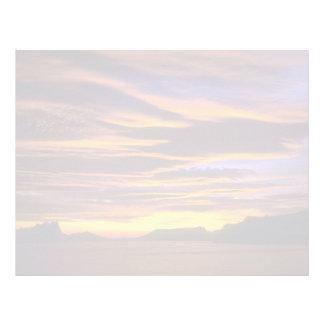 Beautiful Sunset: Calpe Rock from Casa Sundial, Co Letterhead